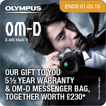 Olympus E-M5 Mark II Pre Order Promotion