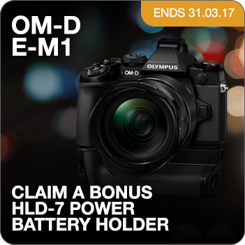 Olympus E-M1_HLD-7 Promotion