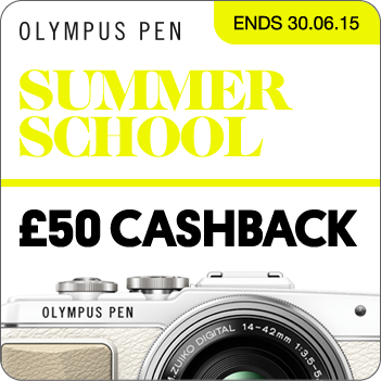Olympus OM-D Events Cashback Promotion